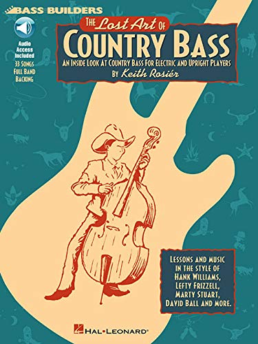 - Lost Art of Country Bass Book/CD