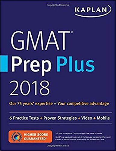 Online Video Mobile GMAT Prep Plus 2018: 6 Practice Tests Proven Strategies