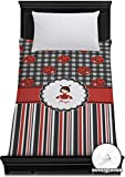 RNK Shops Ladybugs & Stripes Duvet Cover