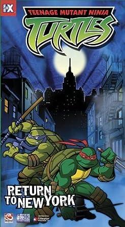 Teenage Mutant Ninja Turtles 7: Return to New York USA VHS ...