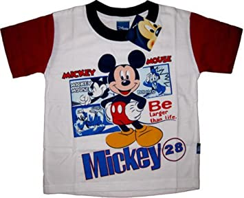 8ac9578d90 Disney Mickey Mouse Boys Girls T Shirt Size 12 Age 9-10 Years Kids  Childrens Clothes Clothing: Amazon.co.uk: Toys & Games