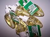 Lot of 5 Bath & Body Works Vanilla Bean Noel WallflowerHome Fragrance Refill Bulbs (Vanilla Bean Noel)