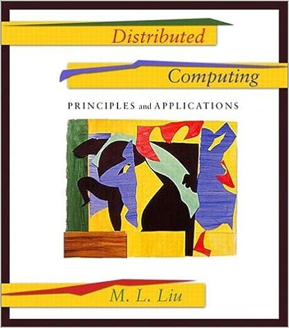 Distributed Computing Ml Liu Pdf