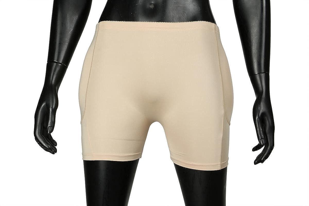 45017d5a5f BEN COMM Butt Lifter Padded Panty Shorts Butt Hip Enhancing Briefs Bust  Enhancer Removable Pads Body Shaper Underwear Increase Bust Size (Size  34