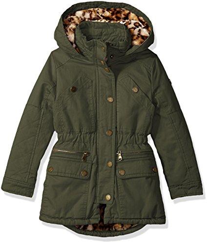 - Urban Republic Big Ur Girls Cotton Twill Jacket, Dusty Olive 5809ADL, 7/8