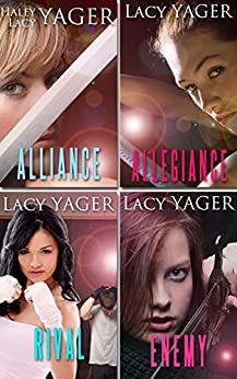 Alliance / Allegiance / Rival / Enemy: a young adult vampire 4-book collection by [Yager, Lacy, Yager, Haley]