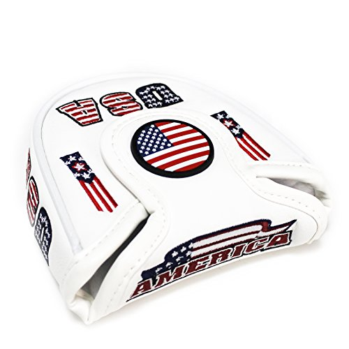 USA MALLET Putter Cover Headcover For Scotty Cameron Taylormade Odyssey 2ball