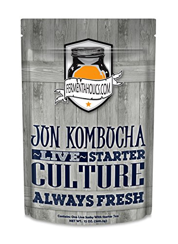 Jun Kombucha Starter Pack (SCOBY + Starter tea) by Fermentaholics (Image #4)