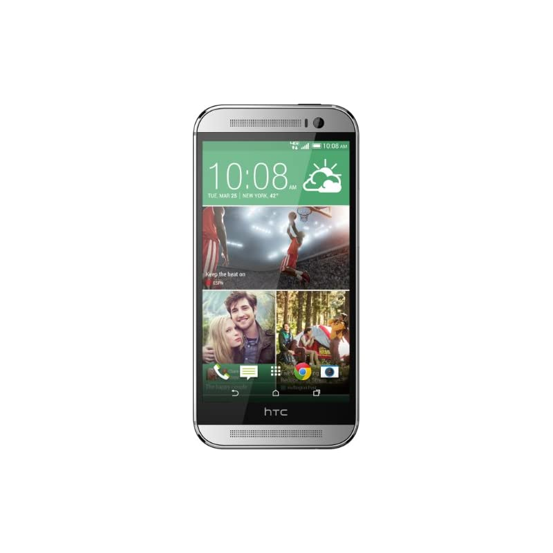 HTC One M8, Glacial Silver 32GB (Verizon
