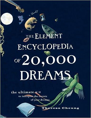 ผลการค้นหารูปภาพสำหรับ The Element Encyclopedia of 20,000 Dreams