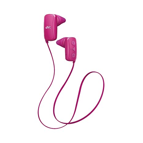 d9ec703beb2 Amazon.com: JVC in-Ear Headphone, Bluetooth, Gumy - Pink: Cell Phones &  Accessories