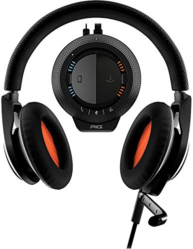 Plantronics RIG Stereo Headset + Mixer for PC/MAC, Xbox 360, PS3, Mobile, and PS4 - Headset For Ps3 Rig