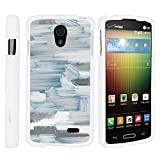 verizon lg lucid 3 - LG Lucid 3 VS876 Cover, Thin Hard Shell Hard Armor Case with Personalized Graphics for LG Lucid 3 VS876 (Verizon) by MINITURTLE - Arctic Winter Road