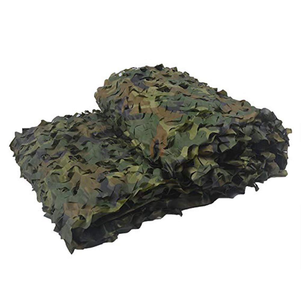 Filet d'ombrage ZXMEI Filet De Camouflage Woodland, Utilisé for Le Camouflage De Camping dans L'armée, Tente Extérieure D'Oxford for Empêcher La Photographie Aérienne (Taille   8x10m)  8x10m