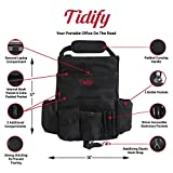 Tidify Car Front Seat Organizer with Dedicated