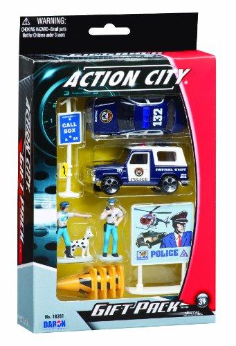 Daron Police Department Gift Set 10-Piece