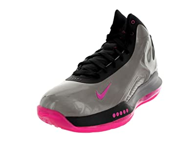 e27cfe7022bf Nike Men s Hyperflight Max MTLC Pewter Pink Foil Black Basketball Shoe 9. 5 Men  US  Buy Online at Low Prices in India - Amazon.in