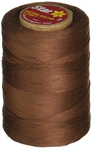 (Coats & Clark Star Mercerized Cotton Thread Solids 1200 Yds: Brown Chestnut)