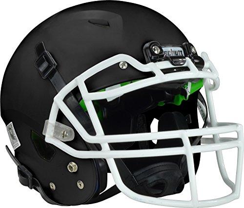 Schutt Vengeance A3 Youth Football Helmet (Matte Black, Medium)