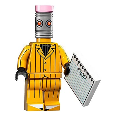 LEGO Batman Movie Series 1 Collectible Minifigure - The Eraser (71017): Toys & Games