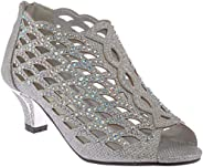 Girl Evening Sandal Rhinestone Dress-Shoes ck19-3