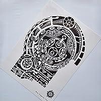 kotbs 2 Pcs grande camiseta de Dwayne Johnson Totem adhesivo ...