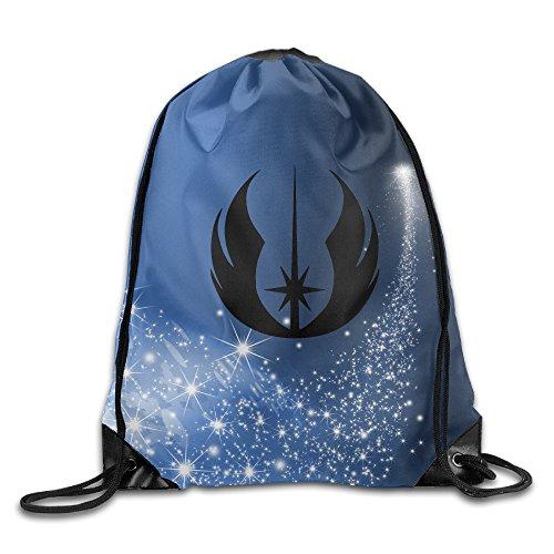 Drawstring All Backpack Star - Star War Jedi Logo Drawstring Backpack Bag