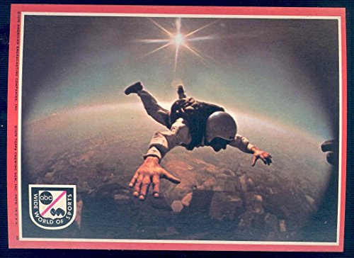 1975 Topps ABC Wide World of Sports Big Sticker Card 5x7#22 Skydiving - Mint Condition Ships in a Brand New Holder ()