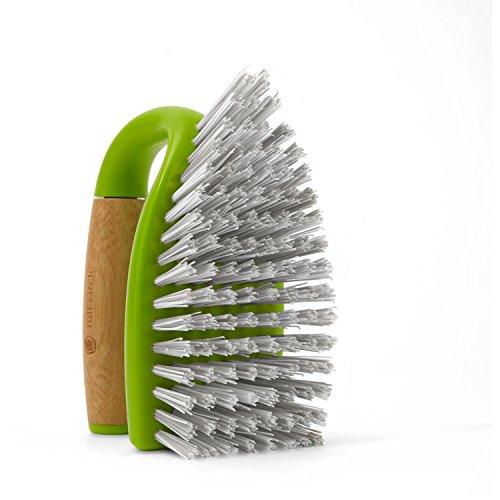 Full Circle Tough Stuff All-Purpose Scrub Brush, Green