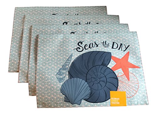 Seas-the-Day-Sea-Shell-Summer-Placemats-18-x-13-inches