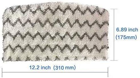 FBSHOP 6 Paquetes de Almohadillas de Microfibra para aspiradora Shark Steam Mop S1000 S1000A S1000C S1000WM S1001C TM