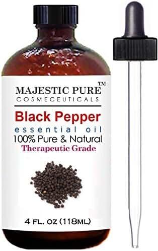 Black Pepper Essential Oil From Majestic Pure, 4 fl. oz.