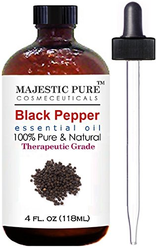 Black Pepper Essential Oil From Majestic Pure, 4 fl. oz.