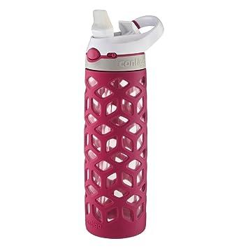 Contigo Autospout paja Ashland cristal botella de agua, botella de, muy Berry