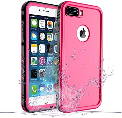 Iphone 8 Plus 7 Plus Waterproof Case Waterproof Iphone 8 Plus Shockproof Full Body Rugged Cover Case With Built In Screen Protector For Apple Iphone