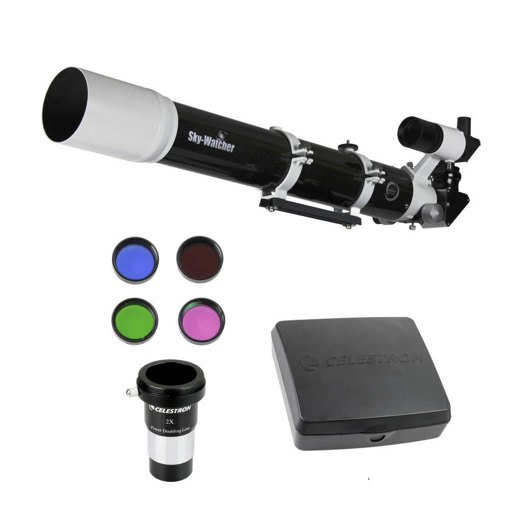 EvoStar 100ED / ProED 100mm Doublet APO Refractor (OTA only) + Deluxe Observing Eyepiece Kit by Sky Watcher