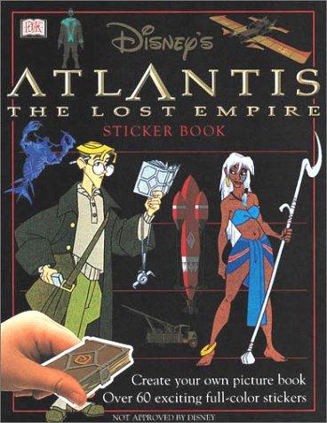 Disney's Atlantis: The Lost Empire Sticker Book (Ultimate Sticker Books)