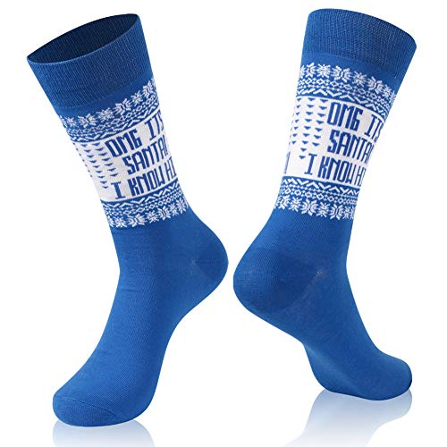 Christmas Gift Socks, Gmark Unisex Winter Socks English Words
