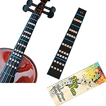 Aspiring 2pcs Guitar Fretboard Musical Scale Notes Map Labels Sticker Fingerboard Fret Decals For Acoustic Electric Guitar Stringed Instruments