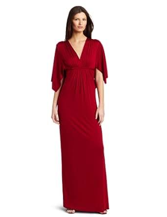 Rachel Pally Women's Long Caftan Dress, Chili, Small