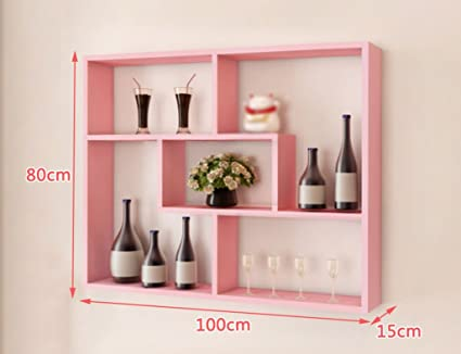 Wall Shelves Wall-Mounted Wall Decoration Wine Racks Modern Simple ...