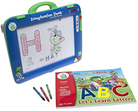 Amazon.com: LeapFrog Imagination Desk Learning System: Toys & Games