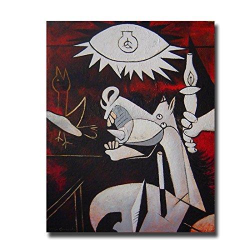 Cuadros Famosos interpretacion Pintada a Mano Caballo del Guernica– Pintores Famosos Picasso, Medidas 100x