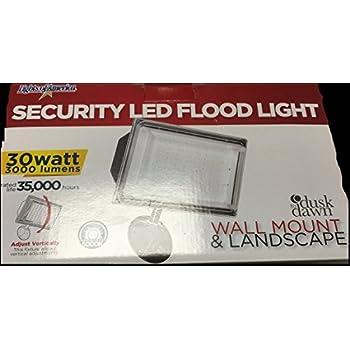 Lights Of America Security Led Flood Light 30w