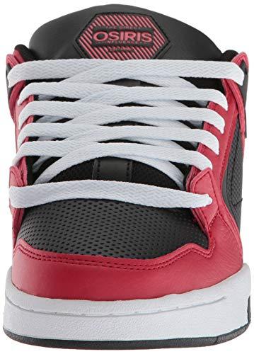 Blanc Osiris Homme Skate Rouge Chaussure Noir Pxl De Pour qgtg18z
