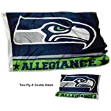 WinCraft Seattle Seahawks Double Sided Allegiance Flag For Sale