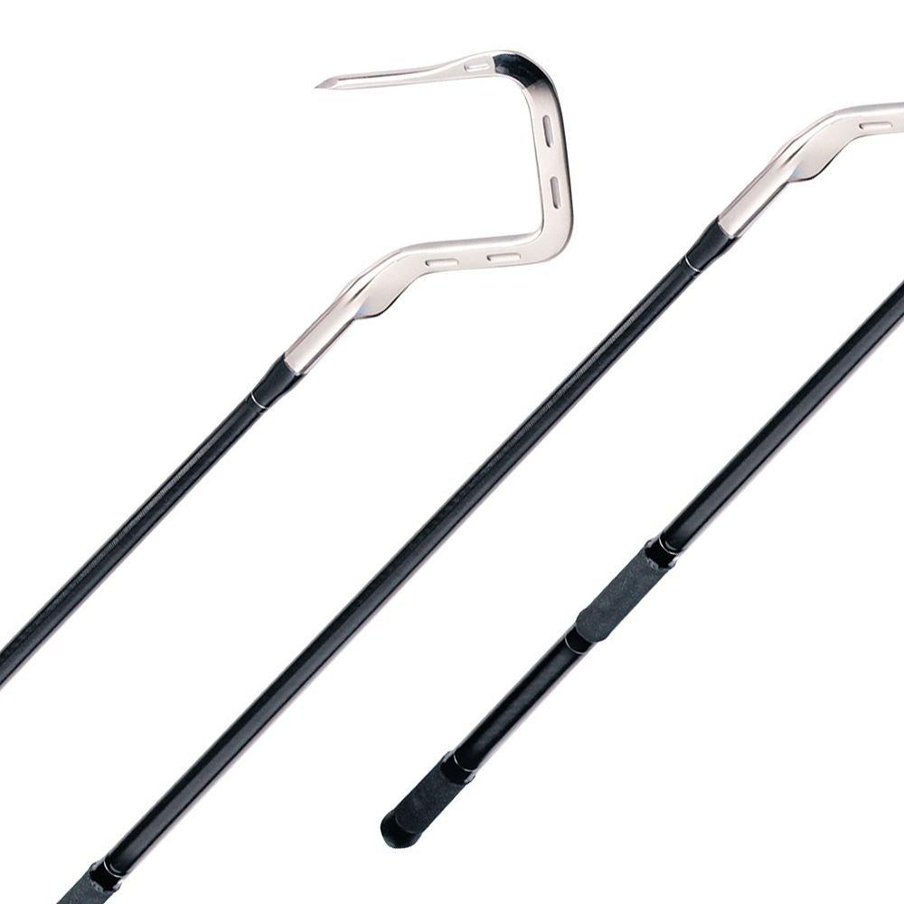 Top Shot Fixed Gaffs - Handle Length 6' Tuna Gaff - Hook Spread 4'' by Top Shot