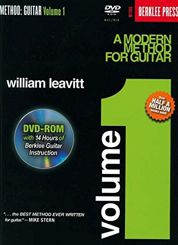 (A Modern Method for Guitar - Volume 1: Book/DVD-ROM Pack (Method (Berklee Press)))