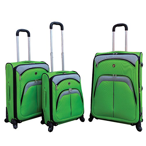 lexington-collection-3-piece-luggage-set-with-360-4-wheel-system-in-green