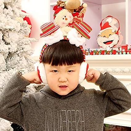 Childrens Ear Muffs Kids Girls Winter Warm Faux Fur Plush Ear Warmers Earmuffs